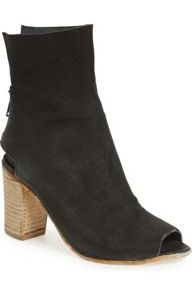 Free People 'Golden Road' Open Toe Bootie (Women) available at #Nordstrom