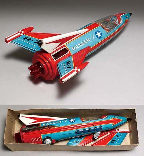 ヨネザワ/日本製 スペースロケット・レンジャー7(SPACE ROCKET RANGER 7)箱付