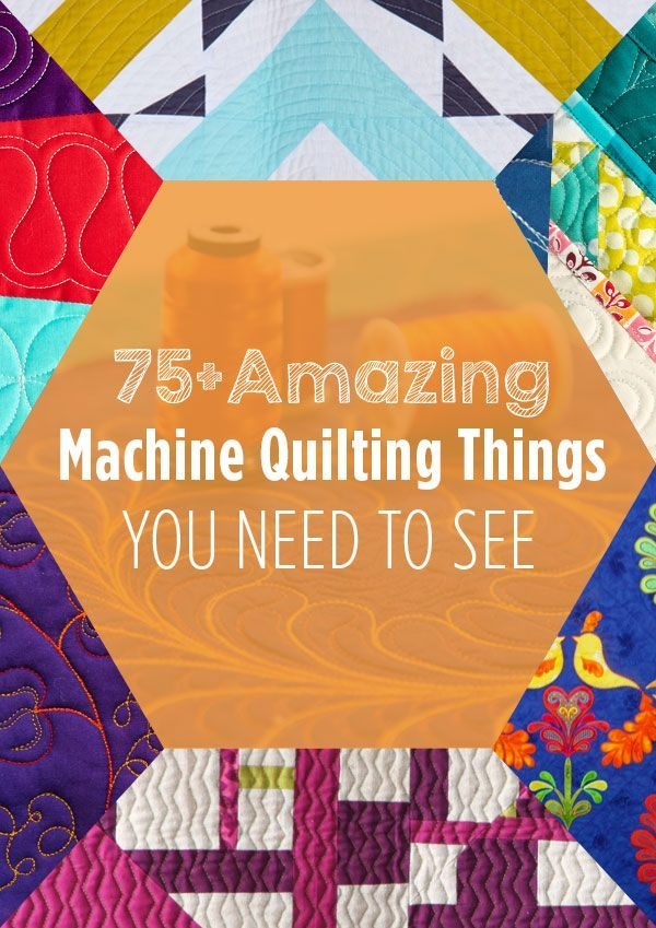 Prepared to be delighted! We've gathered more than 75 of our best tutorials, classes and more to help you easily learn and improve your machine quilting.