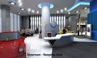 Gallano Design: Volkswagen Showroom Singapore