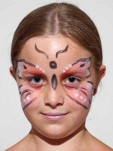 Kinderschminken Schmetterling 1
