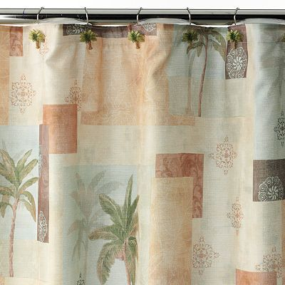 shower curtain leaf | eBay