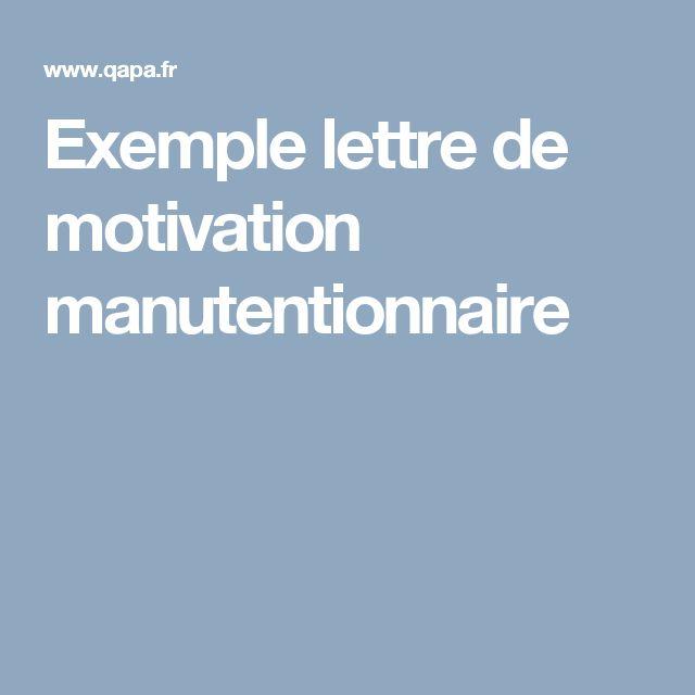 best 25  exemple lettre de motivation ideas on pinterest