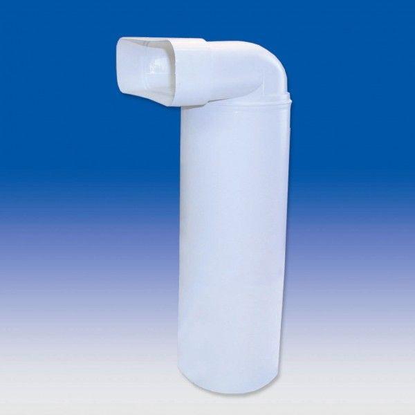 Umlenkstuck Mit Rundrohr Fk230x80 Dunstabzugshaube Abluft Rohre Abluft