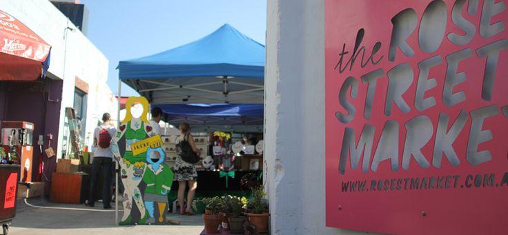 The Rose St. Artists' Market   Melbourne's Best Art and Design Market