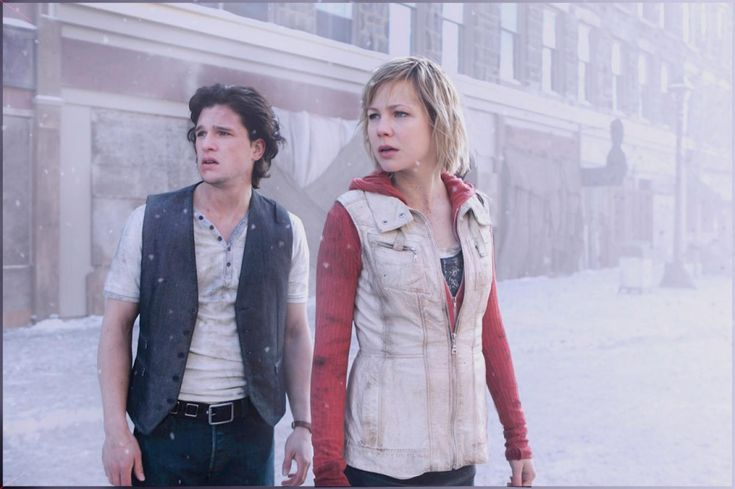 Silent Hill Revelation Part 2 movie with:  Kit Harington=as Vincent & Adelaide Clemens as Heather / Alessa.  I thought they both did a good job! I think we are in for a Silent Hill 3 movie! ;) hopefully won't keep us in suspense for 6yrs!  ;)