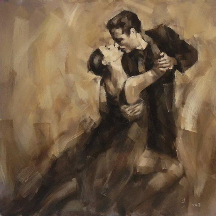Αποτέλεσμα εικόνας για lovers dancing in painting
