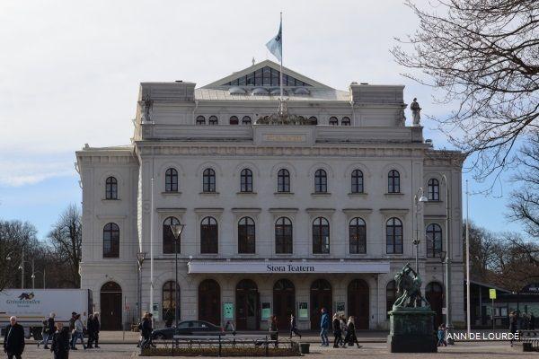 Stora Teatern, Winter 2017, Kungsparken, Göteborg, Sverige.