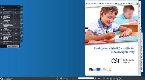 Česká školní inspekce ČR - Publikace: Hodnocení výsledků vzdělávání didaktickými testy