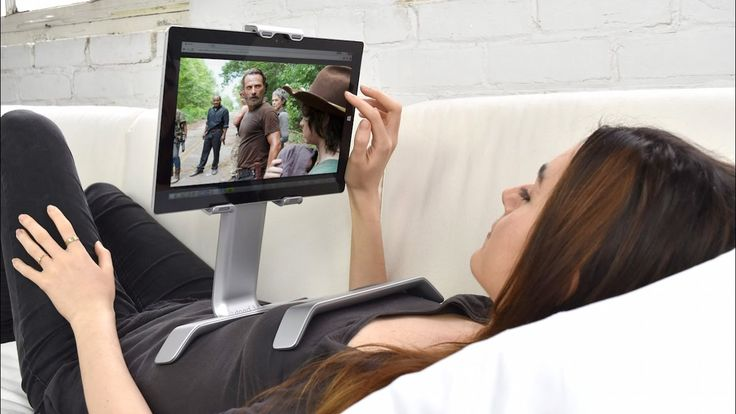 TSTAND   The Laziest iPad Bed Stand   Now on Amazon iPad Holder For Bed   Tstand    cool  but sometimes you gotta move