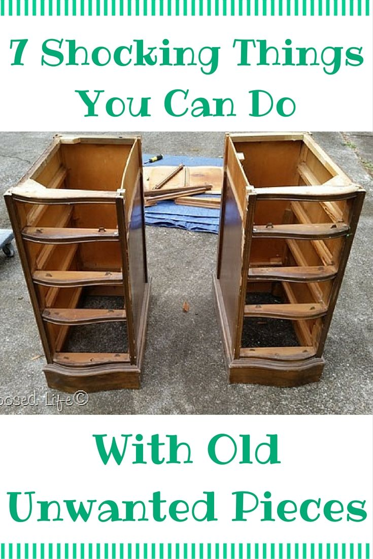 how to repurpose furniture. 11 Shocking Things You Can Do With Old Unwanted Pieces How To Repurpose Furniture