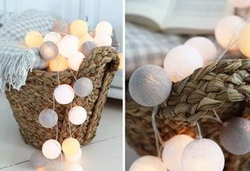 Cotton Ball Lights :: Canoe 50 kul