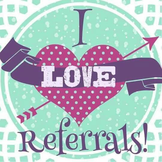 The greatest compliment you can give me is referring me to your family and friends.  Refer a customer, hostess or someone who joins my team during February, and you will be glad you did! Thank you for your continued support!  www.cathyjones.scentsy.us