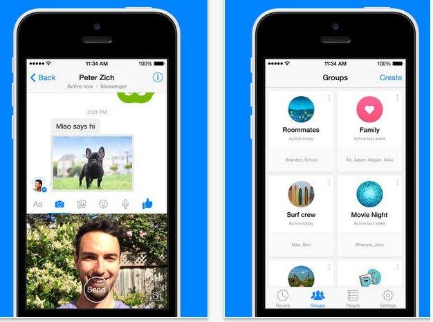 Facebook para iPhone y Android, en los próximos días dejará de ofrecer chat.  Facebook trata de forzar a los usuarios a descargar la aplicación Facebook Messenger o se tendrán que conformar chateando a través de la web móvil de Facebook.