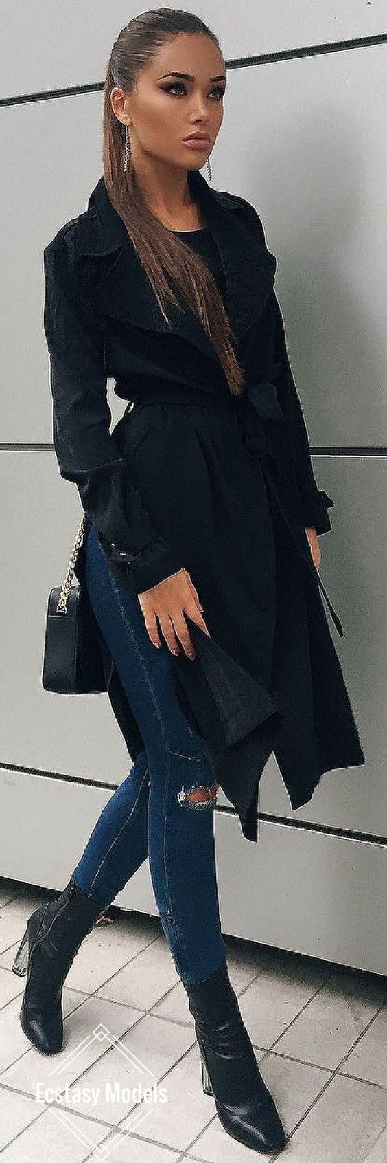 Stylish Trench // Fashion Look by Natali Danish