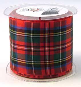 Royal Stewart Tartan Ribbon made in Scotland