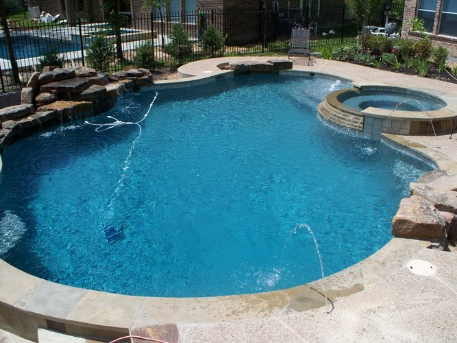Top 25 ideas about pool designs on pinterest color for Pool jets design
