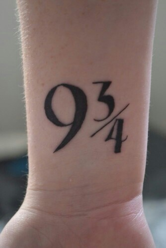 If I were ever to get a tattoo....this would probably be it. Except way smaller.