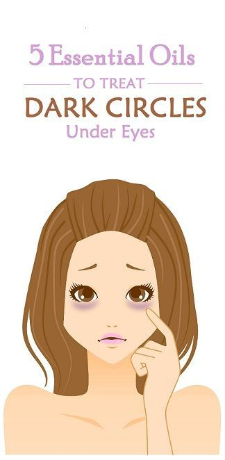 Treating Under Eye Circles with Essential Oils