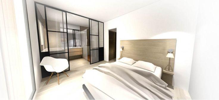 Résidence - Aix en provence - Red Banana Studio architecte d'intérieur - Suite parentale