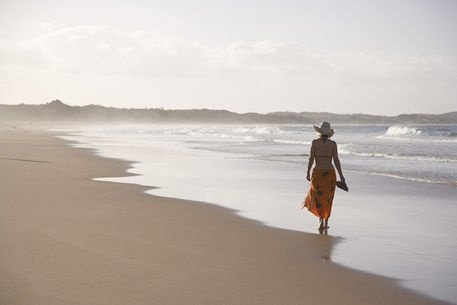 Tofo, Mozambique.  The most beautiful beach.