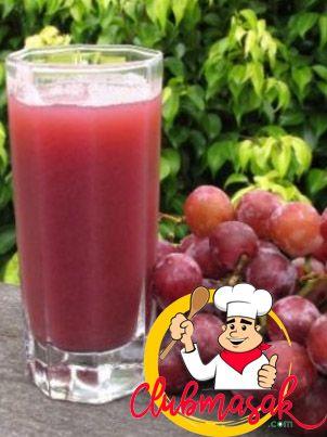 Resep Jus Anggur Merah, Resep Aneka Jus dan Mamfaatnya, Club Masak