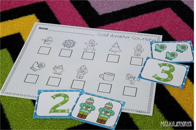 Take a Closer Look {January Math and Literacy Centers}