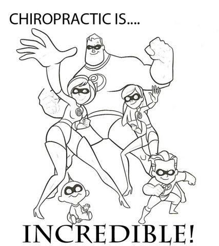 coloring pages for chiropractic kids - Google Search