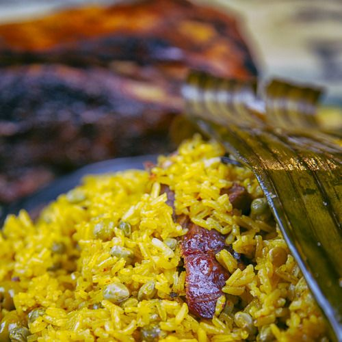"""Arroz con Gandules"" (Rice with pigeon peas) — Daisy Martinez"