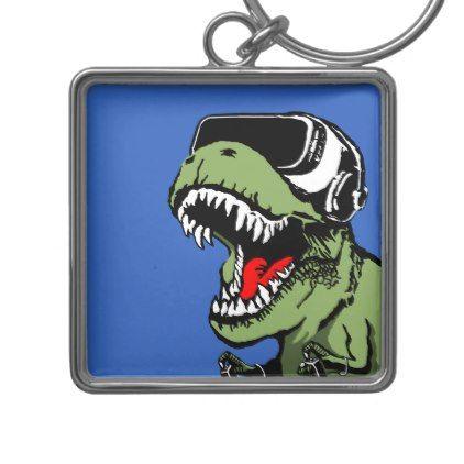 #funny - #VR T-rex Keychain