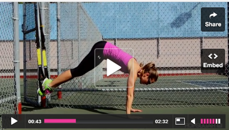 3 TRX moves to strengthen your core.