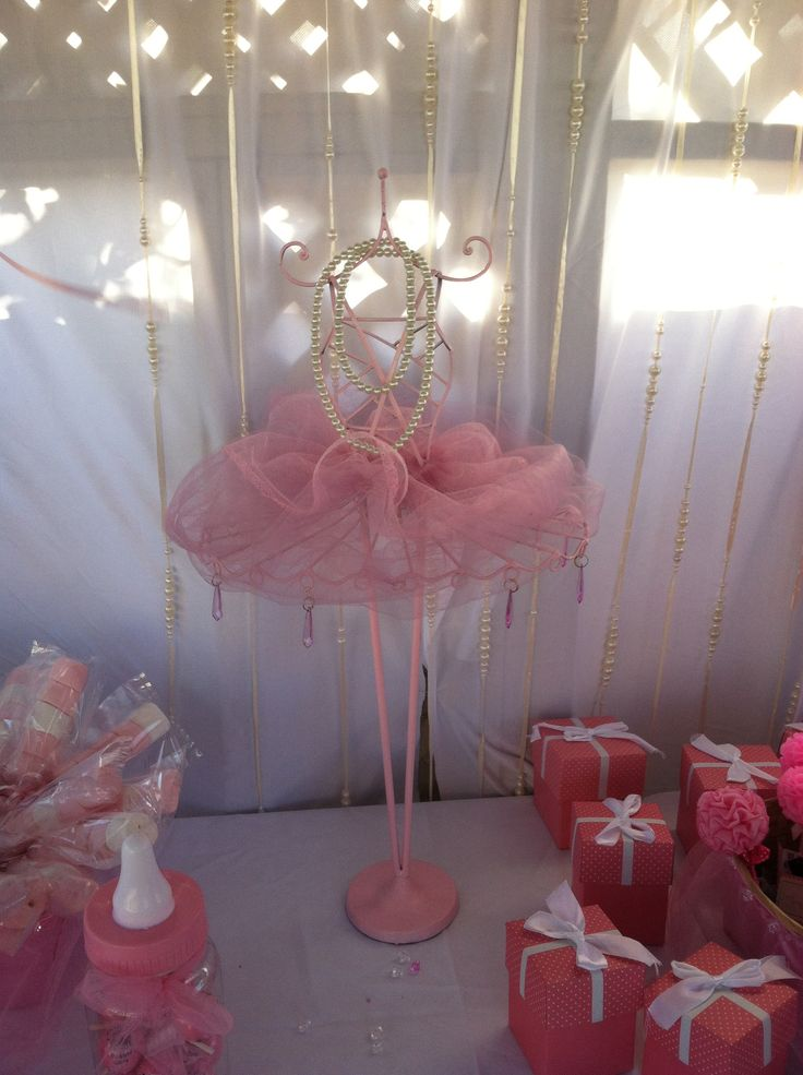 tutus pearls baby shower on pinterest pink baby showers baby