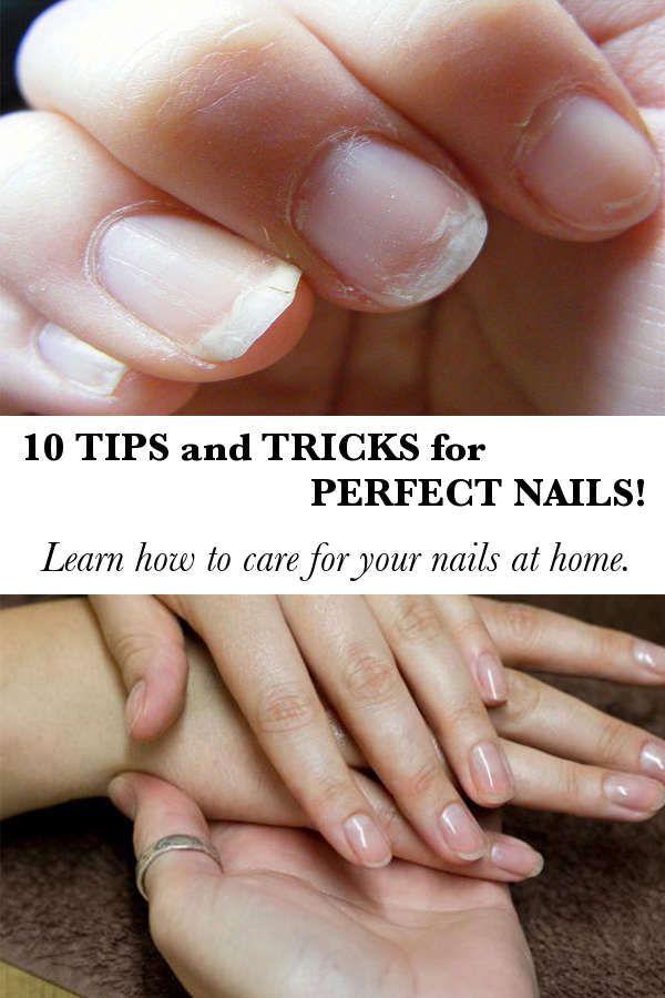 10 Tricks For Healthy Nails Jpg 600 900 Pixels Healthy Nails Perfect Nails Beauty Hacks