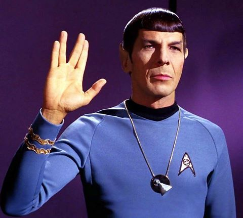 Leonard Nimoy (March 26, 1931 - February 27, 2015). Mr. Spock.