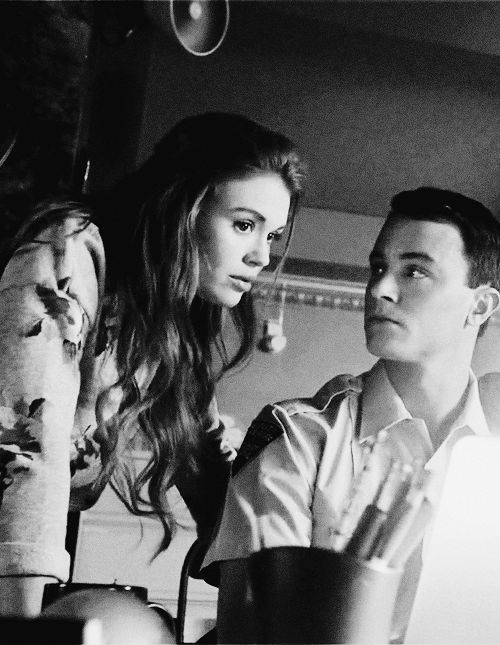Lydia Martin & Deputy Parrish..... I think they would be perfect for each other