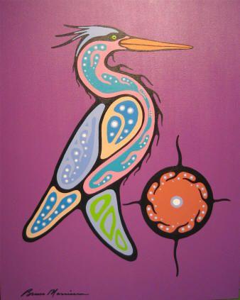 Blue Heron - Bruce Morrisseau