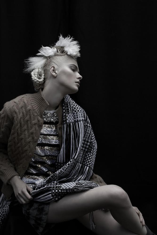 Photographer: Michelle Beatty  Assistant: Leanne Crowe Stylist: Rachel Davis @ One Represents Hair & Makeup: Darren Evans @ Mandy Coakley Model: Mayya @ Select Models Retouching: Kivela Imaging fault magazine