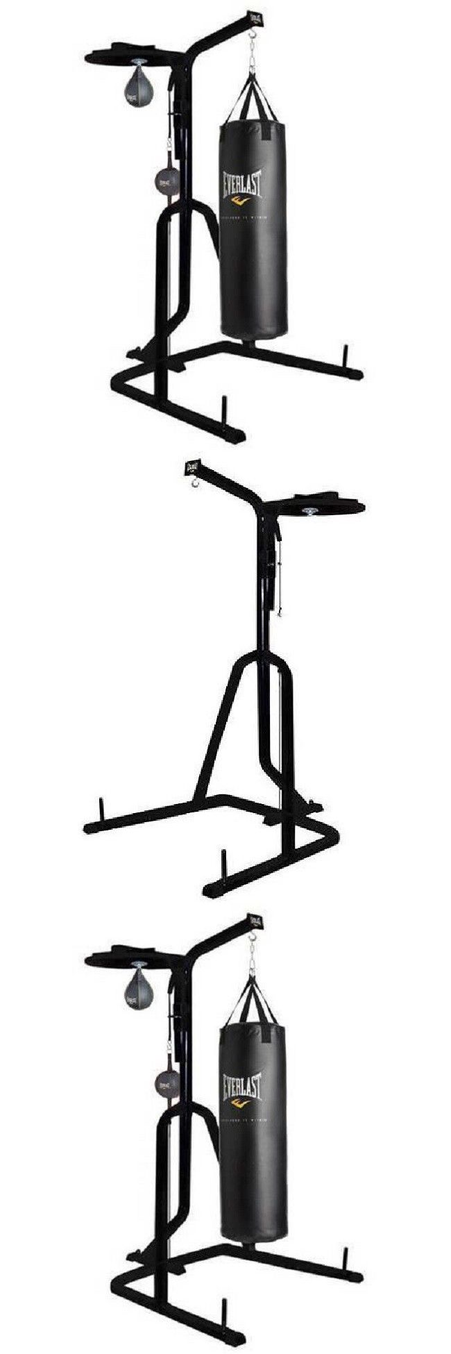 Punching Bags 30101: Heavy Duty 3 Station Punching Bag Stand Boxing Mma Exercise Fitness Equipment -> BUY IT NOW ONLY: $189.05 on eBay!