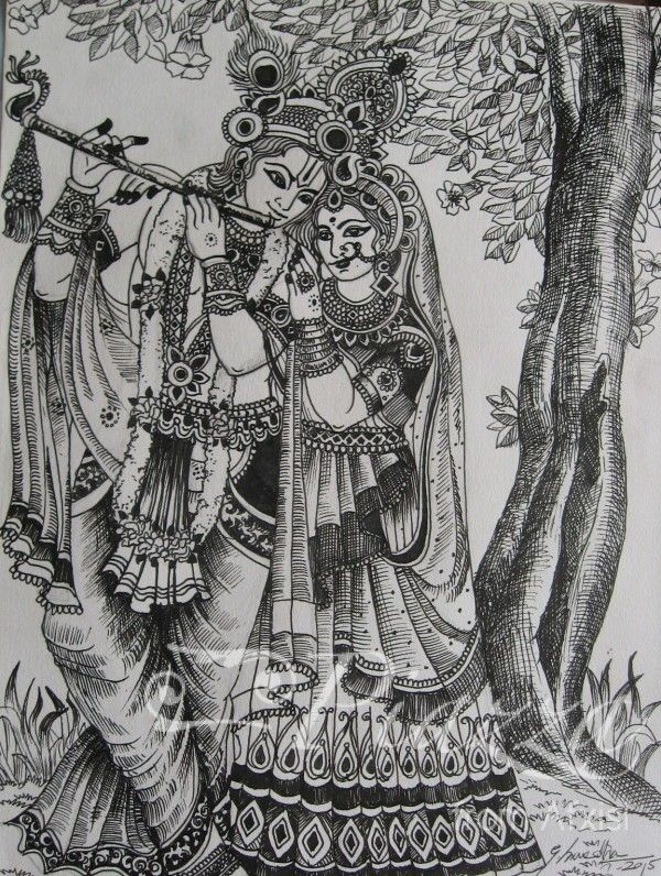 Visit http://piazzaart.com/Art/radha-krishna-pen-drawing-8-x-12/ or Call +91-89-39-19-44-55 to buy this beautiful piece of artwork ———————————————— #art #artist #drawing #illustration #instaart #instart #instaartist #instartist #oilpainting #artwork #painting #sketch #beauty #art_empire #proartists #artofdrawing #drawsofinsta #art_gallery ##outdoor #India #chennai #mumbai #delhi #bangaluru #hyderabad #UK #USA