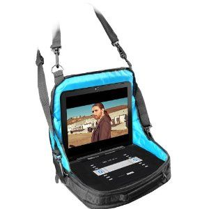 black friday in car portable dvd player notebook travel display case attaches to rear or front seat and works for to models from accessory power
