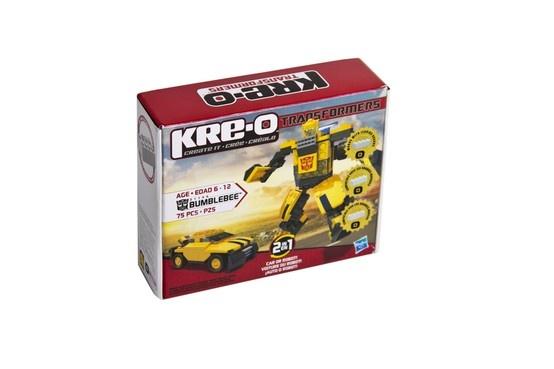 Transformer de Bumblebee, marca Kre-O.: Marca Kreo, Marca Kre O'