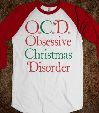 Obsessive Christmas Disorder - WINTERCIRCUS - Skreened T-shirts, Organic Shirts, Hoodies, Kids Tees, Baby One-Pieces and Tote Bags #OCD #christmas #obsessed #holidays #xmas