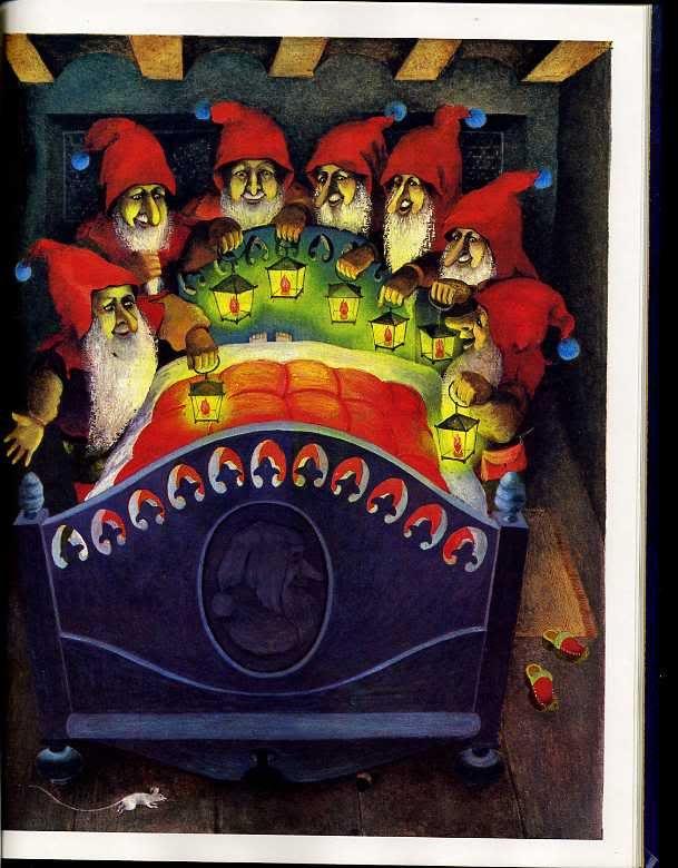 Гримм, Братья. Золотой гусь. Ил. Ольги Кондаковой. М.: Детская литература. 1989 г.: polny_shkaf