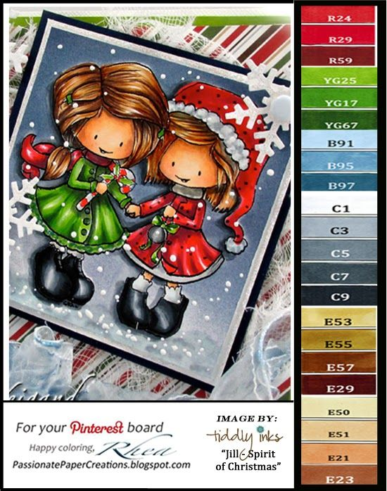 Passionate Paper Creations: Tiddly Inks Christmas Challenge