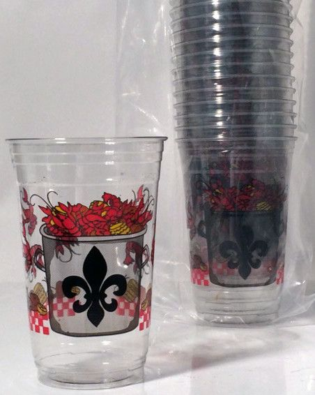Crawfish Boil Disposable Cups — Party Cup Express