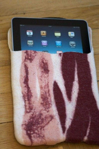 iPad Bacon CaseIpad Bacon, Ipad Cases, Bacon L Ve, Ipad Accessories, Sleeve Ipad, Aka Ipad3, Bacon Covers, Bacon Ipad, Bacon Cases