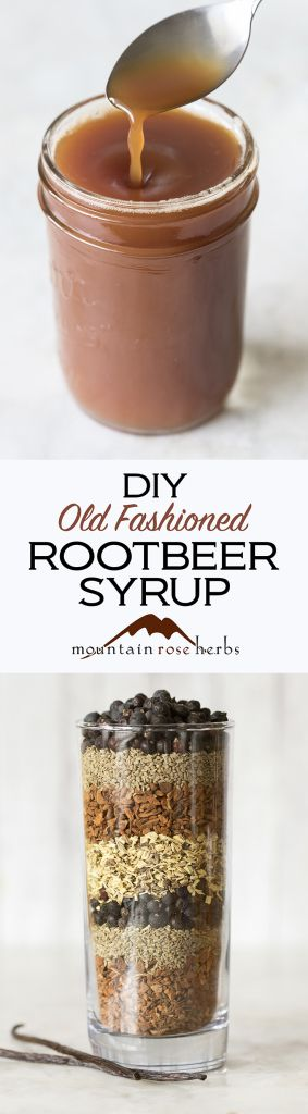 Homemade Herbal Rootbeer Soda Syrup Recipe