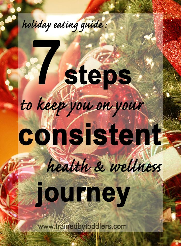 Holidays Eating Guide: 7 Steps to Keep You on Your Consistent Health and Wellness Journey