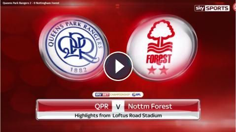 Full-Time: Queens Park Ranges vs Nottingham Forest Highlights and All Goals Online - Sky Bet Championship - 29 April 2017 - FootballVideoHighlights.co...