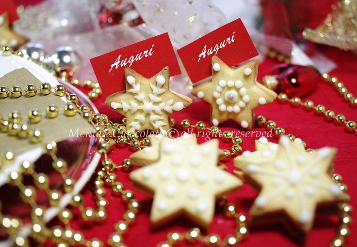 Menta e Cioccolato: Biscottini di frolla speziati decorati